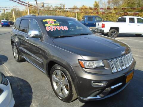 2014 Jeep Grand Cherokee for sale at River City Auto Sales in Cottage Hills IL