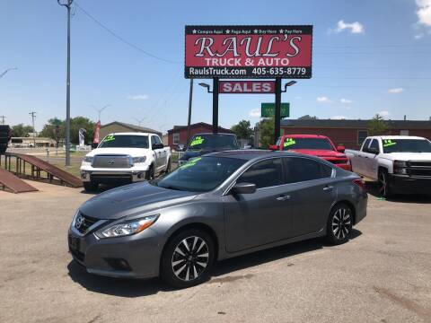 2018 Nissan Altima for sale at RAUL'S TRUCK & AUTO SALES, INC in Oklahoma City OK