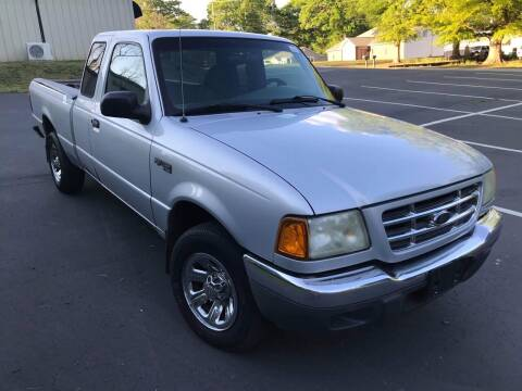 2002 Ford Ranger for sale at Happy Days Auto Sales in Piedmont SC
