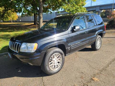 2003 Jeep Grand Cherokee for sale at EXECUTIVE AUTOSPORT in Portland OR
