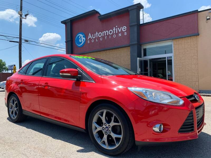 2013 Ford Focus for sale at Automotive Solutions in Louisville KY