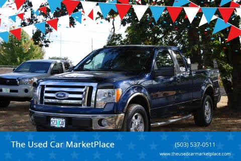 2010 Ford F-150 for sale at The Used Car MarketPlace in Newberg OR
