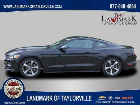 2016 Ford Mustang for sale at LANDMARK OF TAYLORVILLE in Taylorville IL