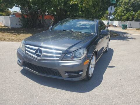 2013 Mercedes-Benz C-Class for sale at A Group Auto Brokers LLc in Opa-Locka FL