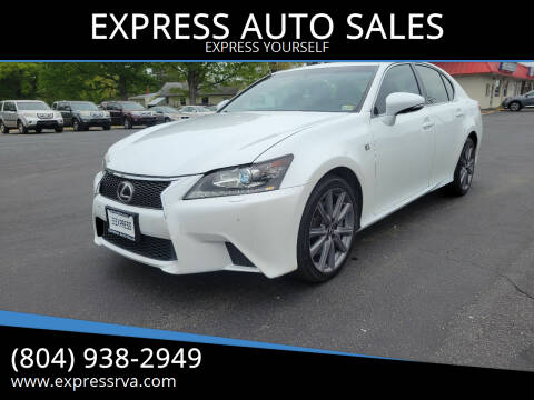 2014 Lexus GS 350 for sale at EXPRESS AUTO SALES in Midlothian VA