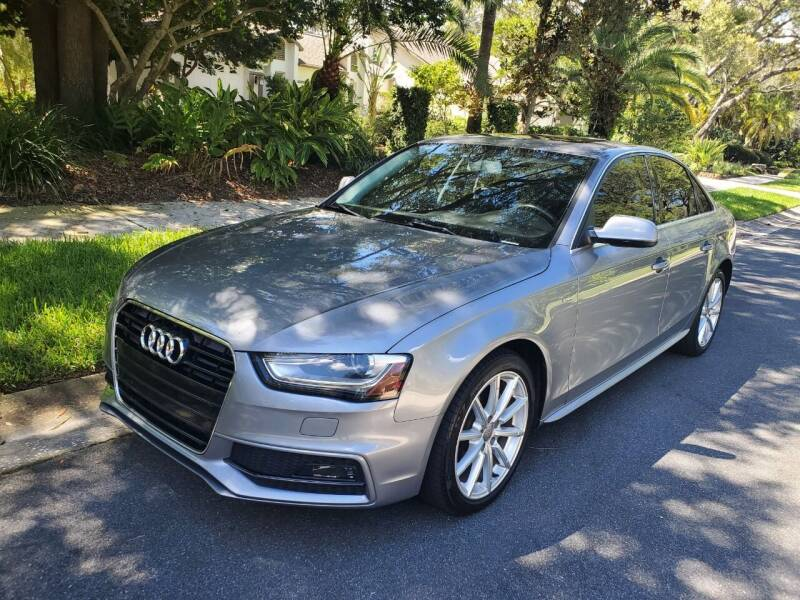 2015 Audi A4 for sale at North American Fleet Sales in Largo FL