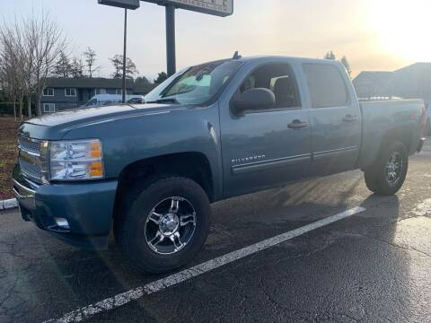 2011 Chevrolet Silverado 1500 for sale at South Commercial Auto Sales in Salem OR
