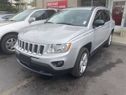 2013 Jeep Compass for sale at Right Place Auto Sales in Indianapolis IN