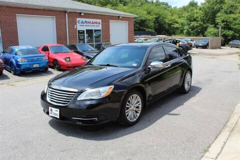 2011 Chrysler 200 for sale at CARMANIA LLC in Chesapeake VA