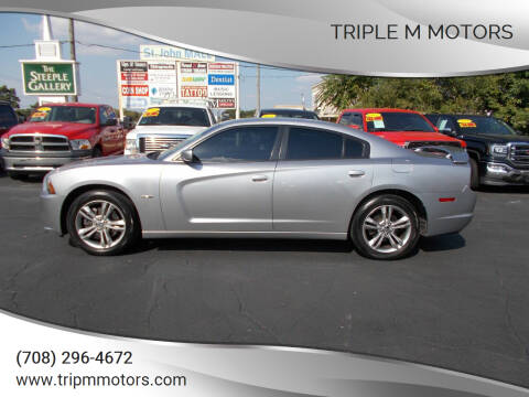 2013 Dodge Charger for sale at Triple M Motors in Saint John IN