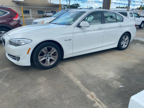 2013 BMW 5 Series for sale at Bobby Lafleur Auto Sales in Lake Charles LA