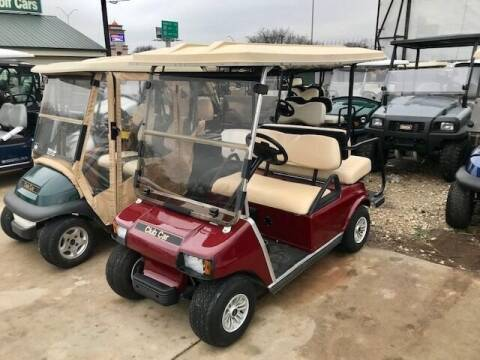 2010 Club Car DSE 4 Passenger Electric for sale at METRO GOLF CARS INC in Fort Worth TX
