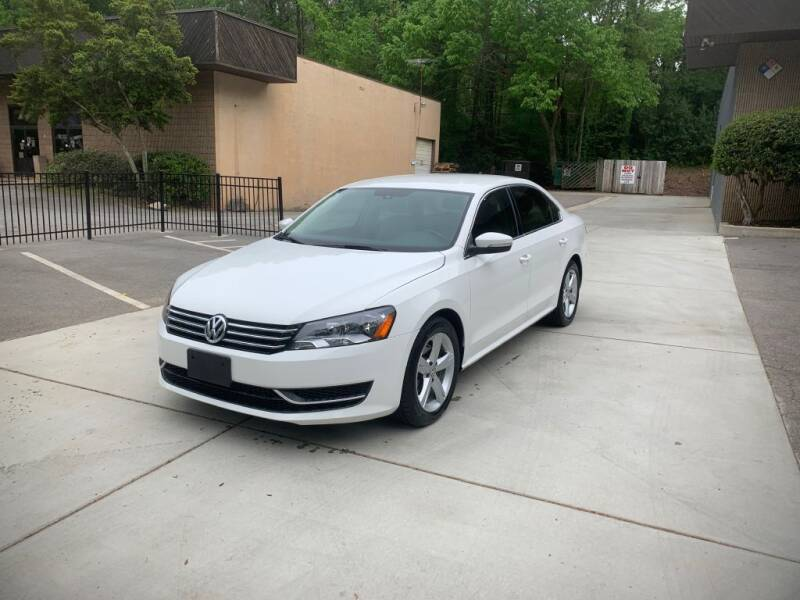 2014 Volkswagen Passat for sale at Adrenaline Autohaus in Cary NC