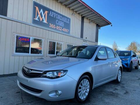 2010 Subaru Impreza for sale at M & A Affordable Cars in Vancouver WA