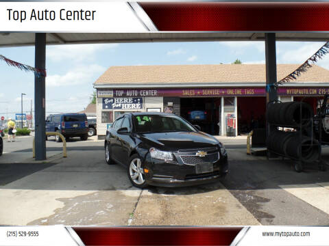 2014 Chevrolet Cruze for sale at Top Auto Center in Quakertown PA