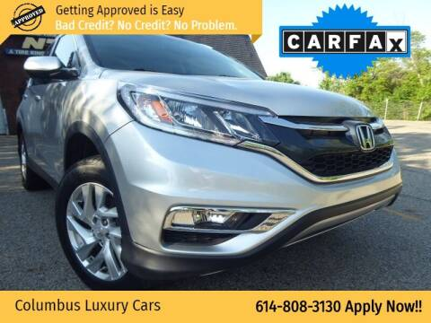 2016 Honda CR-V for sale at Columbus Luxury Cars in Columbus OH