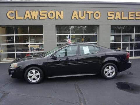 2007 Pontiac Grand Prix for sale at Clawson Auto Sales in Clawson MI
