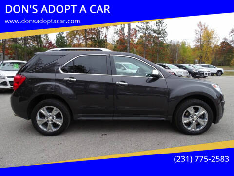 2015 Chevrolet Equinox for sale at DON'S ADOPT A CAR in Cadillac MI