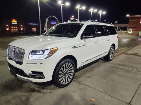 2020 Lincoln Navigator L for sale at Claborn Motors, INC in Cambridge City IN