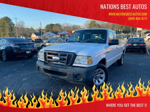 2010 Ford Ranger for sale at Nations Best Autos in Decatur GA