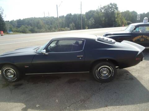 1971 Chevrolet Camaro for sale at Marshall Motors Classics in Jackson Michigan MI