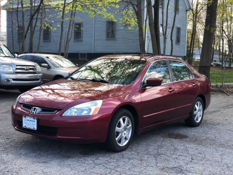 2005 Honda Accord for sale at Emory Street Auto Sales and Service in Attleboro MA