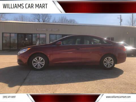 2013 Hyundai Sonata for sale at WILLIAMS CAR MART in Gassville AR