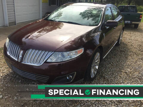2009 Lincoln MKS for sale at Budget Auto Sales in Bonne Terre MO
