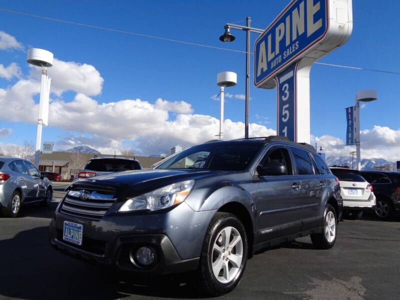 2014 Subaru Outback for sale at Alpine Auto Sales in Salt Lake City UT