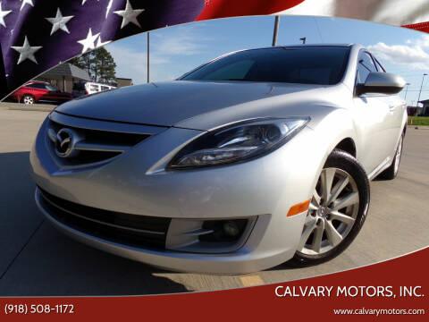 2012 Mazda MAZDA6 for sale at Calvary Motors, Inc. in Bixby OK