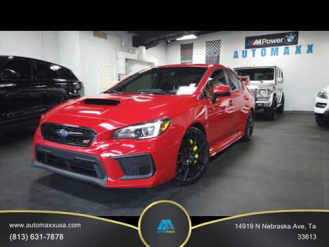 2019 Subaru WRX for sale at Automaxx in Tampa FL