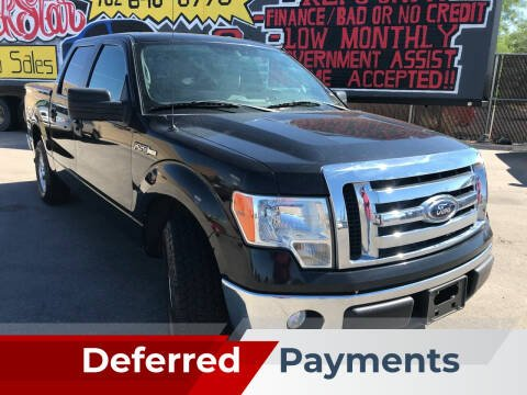 2012 Ford F-150 for sale at Rock Star Auto Sales in Las Vegas NV