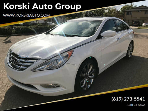 2011 Hyundai Sonata for sale at Korski Auto Group in San Diego CA