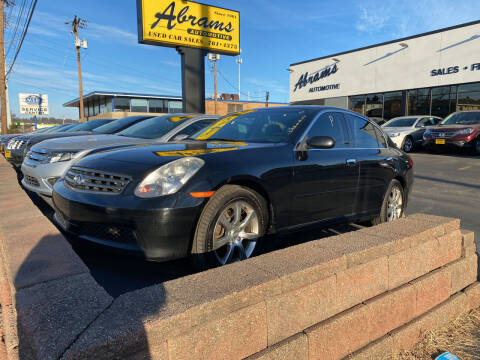 2006 Infiniti G35 for sale at Abrams Automotive Inc in Cincinnati OH