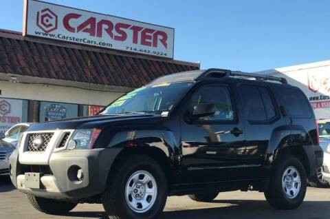 2010 Nissan Xterra for sale at CARSTER in Huntington Beach CA