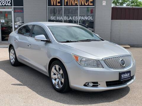 2011 Buick LaCrosse for sale at Stanley Automotive Finance Enterprise - STANLEY DIRECT AUTO in Mesquite TX