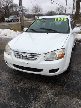 2007 Kia Spectra for sale at Rocket Cars Auto Sales LLC in Des Moines IA