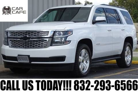 2015 Chevrolet Tahoe for sale at CAR CAFE LLC in Houston TX