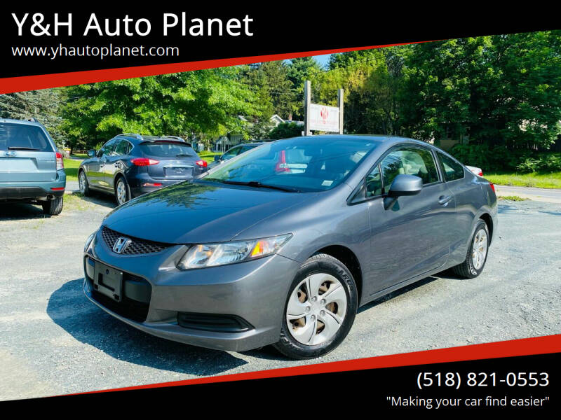 2013 Honda Civic for sale at Y&H Auto Planet in West Sand Lake NY