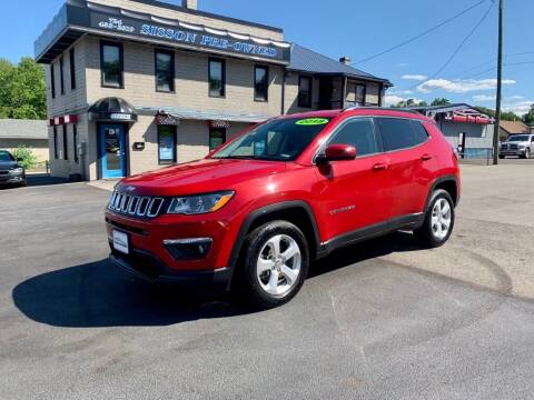 2018 Jeep Compass for sale at Sisson Pre-Owned in Uniontown PA