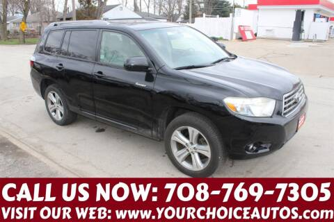 2008 Toyota Highlander for sale at Your Choice Autos in Posen IL