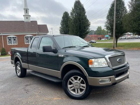 2005 Ford F-150 for sale at Mike's Wholesale Cars in Newton NC
