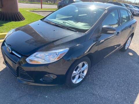 2013 Ford Focus for sale at Auto Tech Car Sales and Leasing in Saint Paul MN