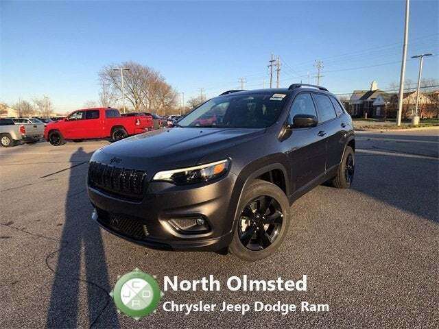 2021 Jeep Cherokee for sale at North Olmsted Chrysler Jeep Dodge Ram in North Olmsted OH
