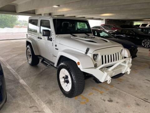 2016 Jeep Wrangler for sale at Southern Auto Solutions-Jim Ellis Hyundai in Marietta GA