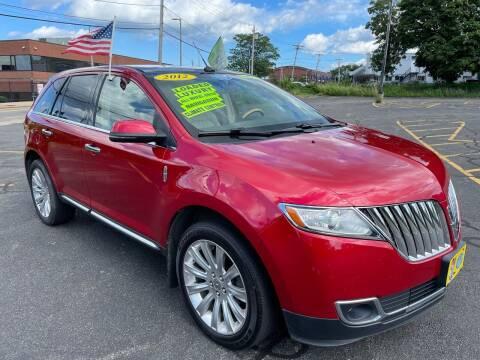 2012 Lincoln MKX for sale at Fields Corner Auto Sales in Boston MA