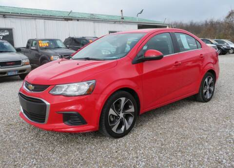 2017 Chevrolet Sonic for sale at Low Cost Cars in Circleville OH
