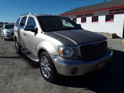 2008 Chrysler Aspen for sale at Sarpy County Motors in Springfield NE