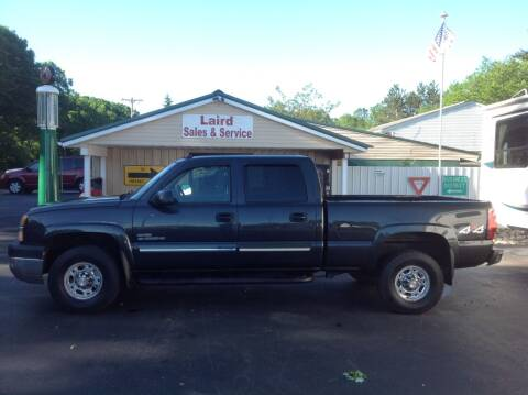 2004 Chevrolet Silverado 2500HD for sale at LAIRD SALES AND SERVICE in Muskegon MI