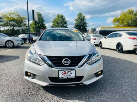 2018 Nissan Altima for sale at Sincere Motors LLC in Baltimore MD